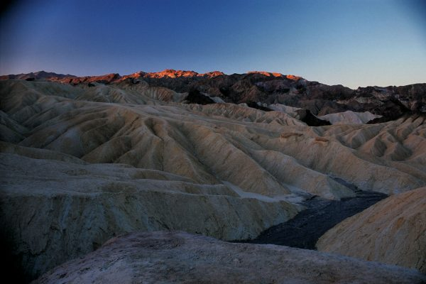 Southerly View From Zabriskie Point, Death Valley, CA