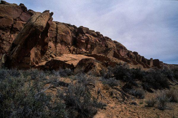 Split Rock at Kin Kletso, Chaco Canyon, NM