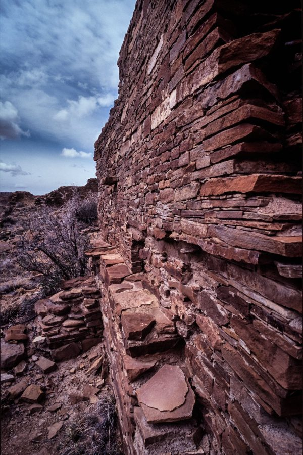 Stonework of Hungo Pavi, Chaco Canyon, NM
