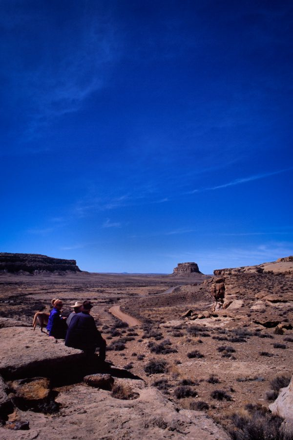 Taking in the View, Chaco Canyon, NM