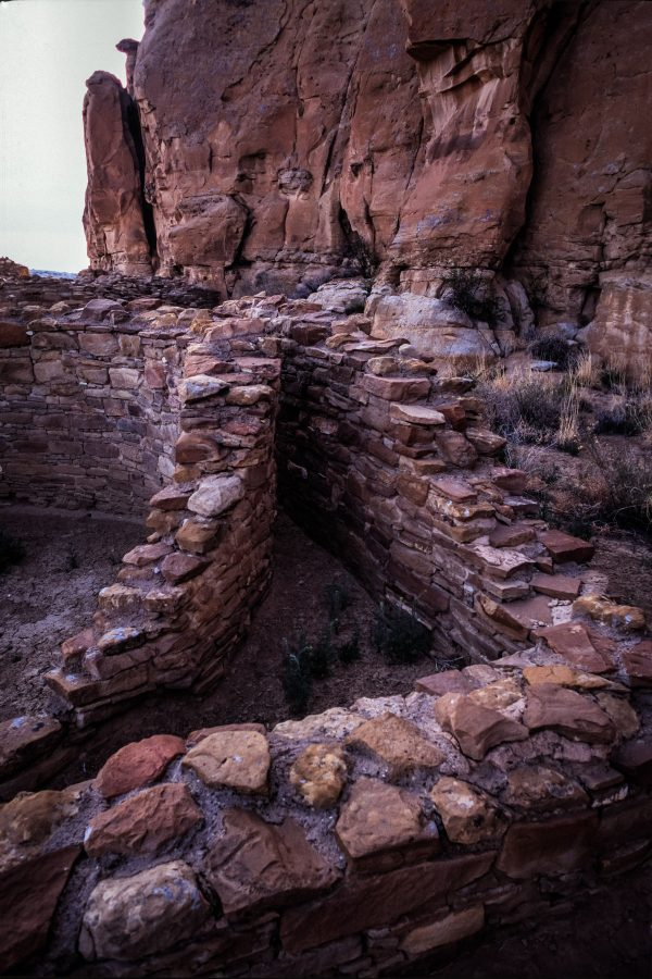 Three Sided Ground Niche in Chetro Ketl, Chaco Canyon, NM