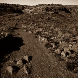 Trail to Casa Rinconada Kiva, Chaco Canyon, NM