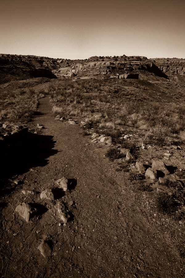 Trail to Casa Rinconada Kiva, Chaco Canyon, NM