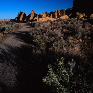 Trail to Pueblo Bonito 2, Chaco Canyon, NM