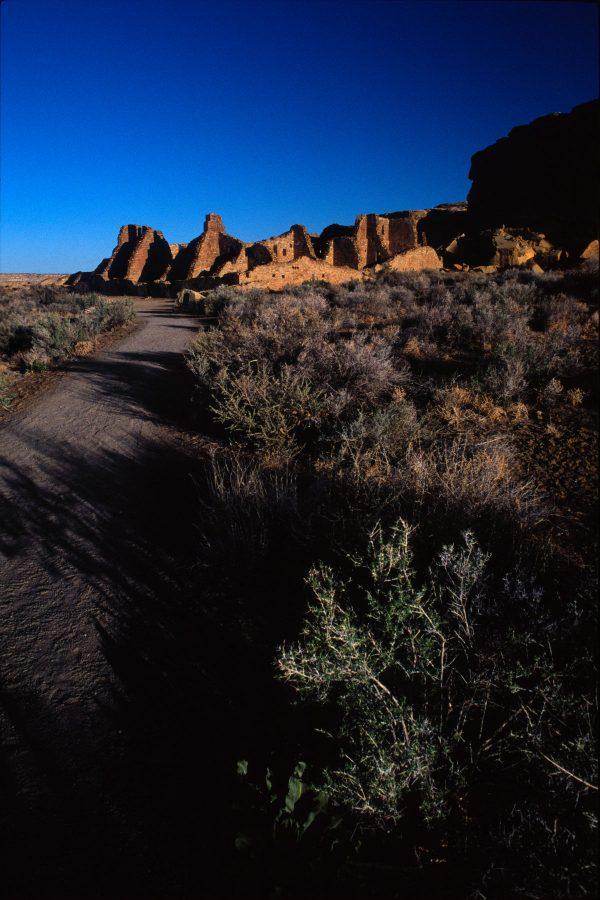 Trail to Pueblo Bonito 2, Chaco Canyon, NM