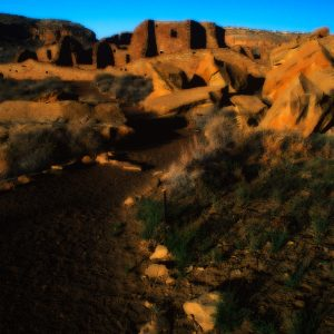 Trail to Pueblo Bonito, Chaco Canyon, NM