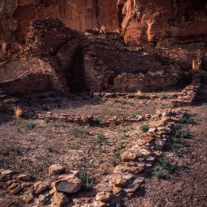 Two Rooms in Chetro Ketl, Chaco Canyon, NM