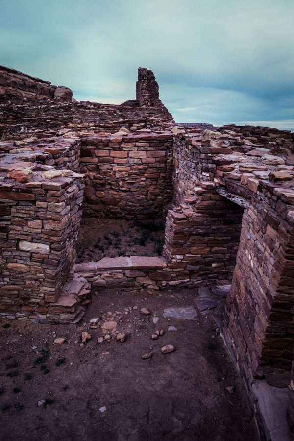 Two Rooms in Pueblo Bonito, Chaco Canyon, NM