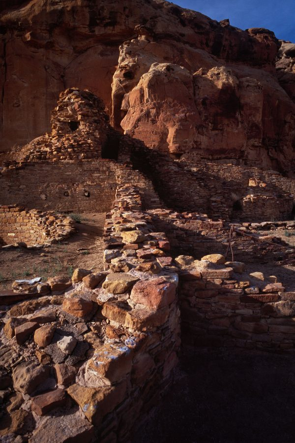 West Section of Chetro Ketl 2, Chaco Canyon, NM