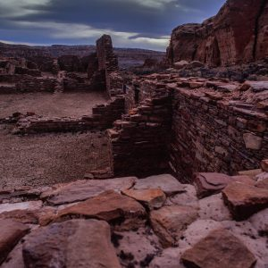 West View From Chetro Ketl, Chaco Canyon, NM
