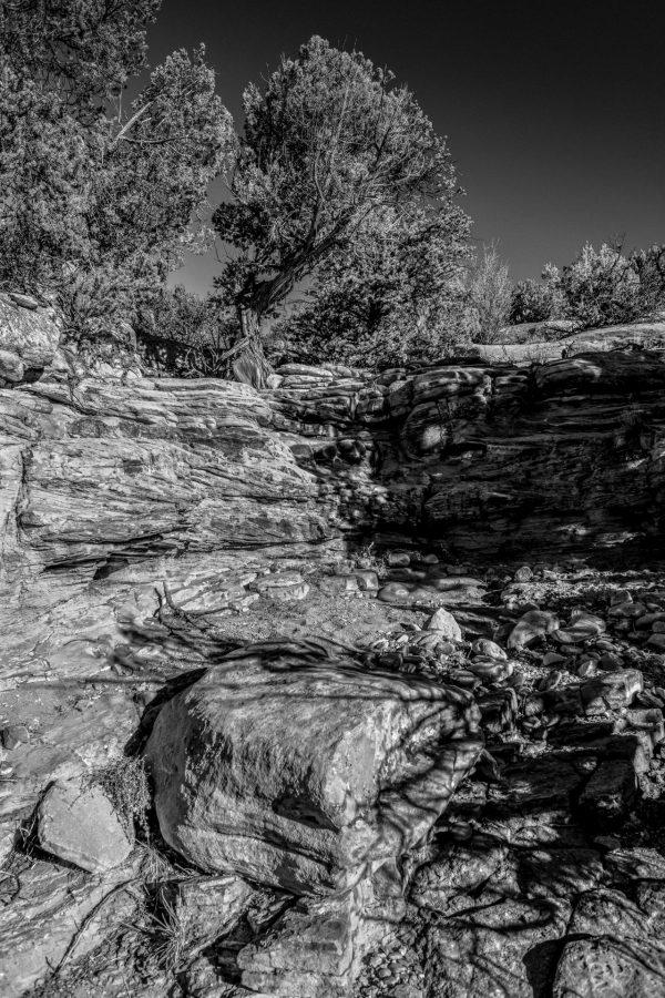 Cove in the Rocks 4, Abiquiu, New Mexico