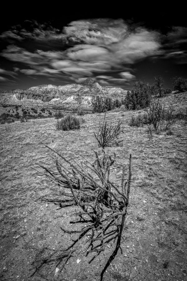 Lenticular Clouds Over El Monte Rojo 5, Abiquiu, New Mexico