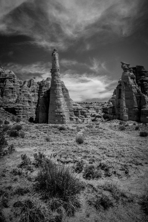 Plaza Blanca Sentries 14, Abiquiu, New Mexico