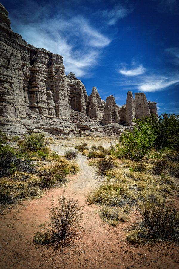 Plaza Blanca Sentries 21, Abiquiu, New Mexico