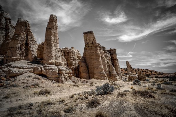 Plaza Blanca Sentries 29, Abiquiu, New Mexico
