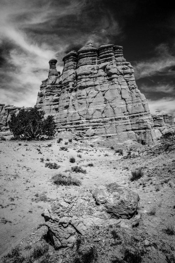 Plaza Blanca Sentries 4, Abiquiu, New Mexico
