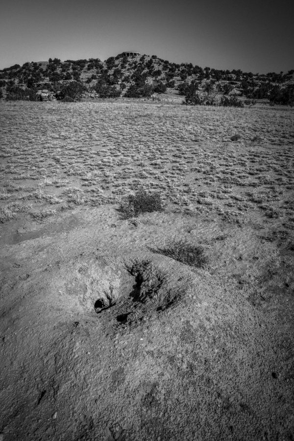 Prairie Dog Hole and Vista de Lago, Abiquiu, New Mexico