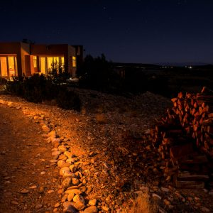 Vista de Lago at Night , Abiquiu, New Mexico