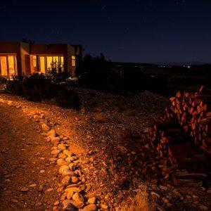 Vista de Lago at Night , Abiquiu, New Mexico