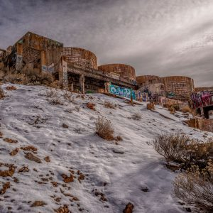Abandoned Tintic Reduction Mine, Genola, Utah