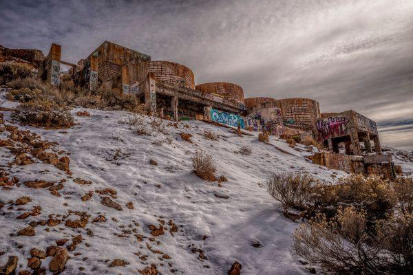 Abandoned Tintic Reduction Mine, Genola, Utah