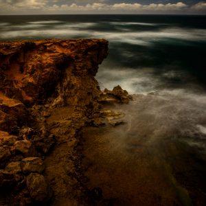 Cliffs Near Shipwreck Beach, Kauai, Hawaii