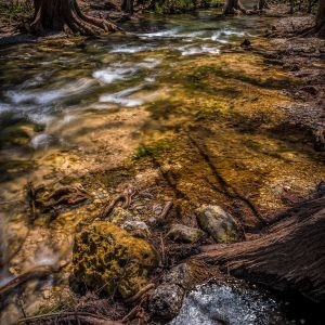 Cypress Creek Little Rapids, Wimberley, Texas