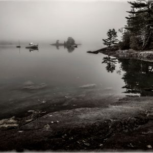 Dead Calm at High Tide #2, Blue Hill Bay, Maine