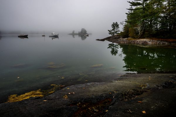 Dead Calm at High Tide, Blue Hill Bay, Maine