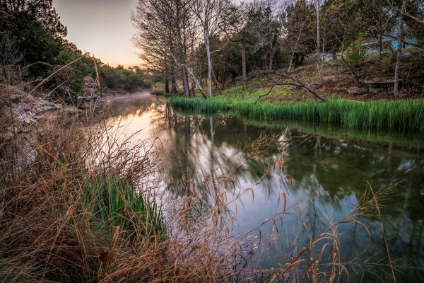 Early Morning on Smith Creek, Wimberley, Texas #3