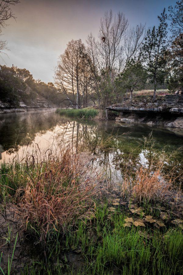 Early Morning on Smith Creek, Wimberley, Texas #7