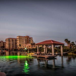 Evening Dinner Cruise View, Padre Island, Texas