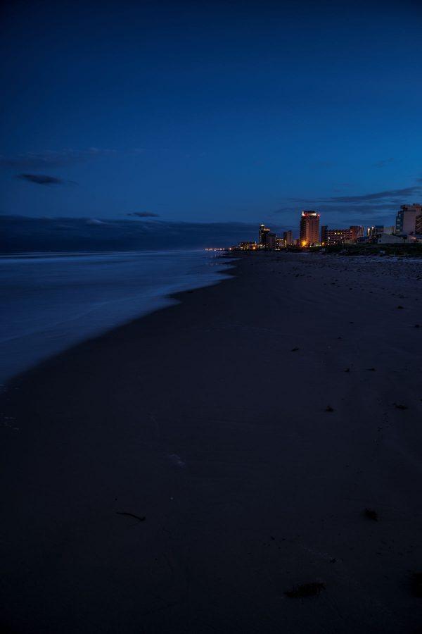 Evening on Sea Side Beach, Padre Island, Texas