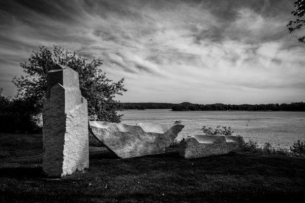 Granite Sculptures, Castine, Maine #2