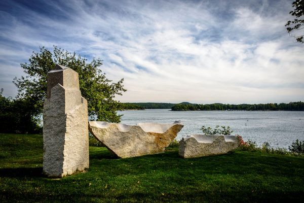 Granite Sculptures, Castine, Maine