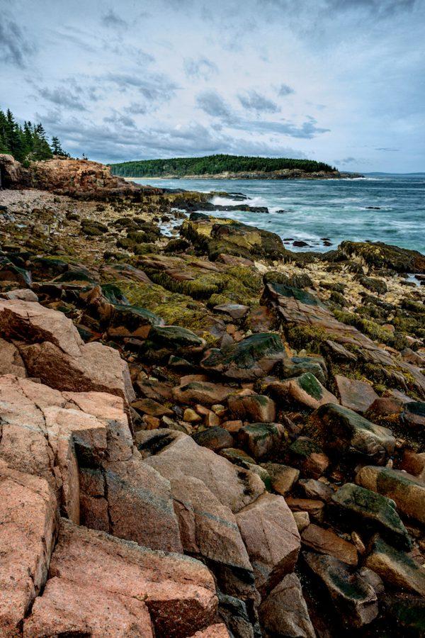 Granite Shores, Acadia National Park, Maine