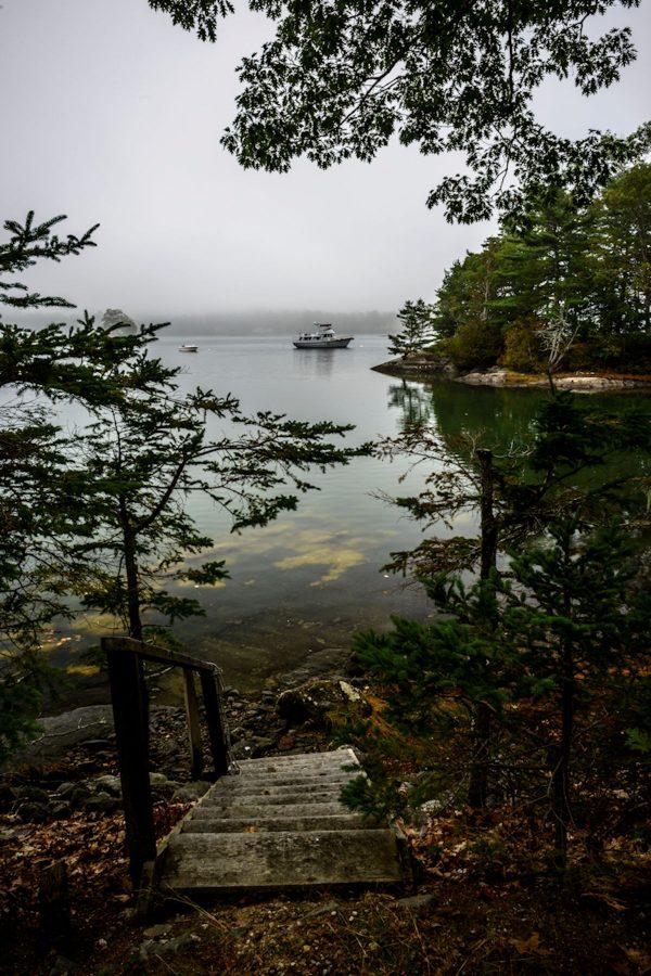 High Tide in Blue Hill Bay, Blue Hill, Maine