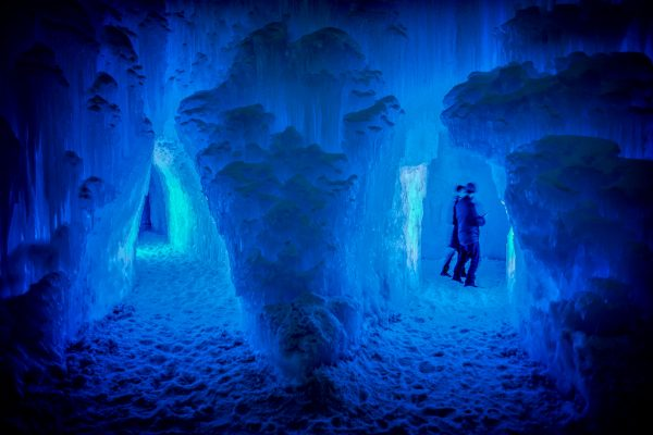 Ice Castle Caves, Midway, Utah