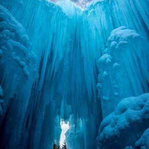 Ice Castle Openings, Midway, Utah