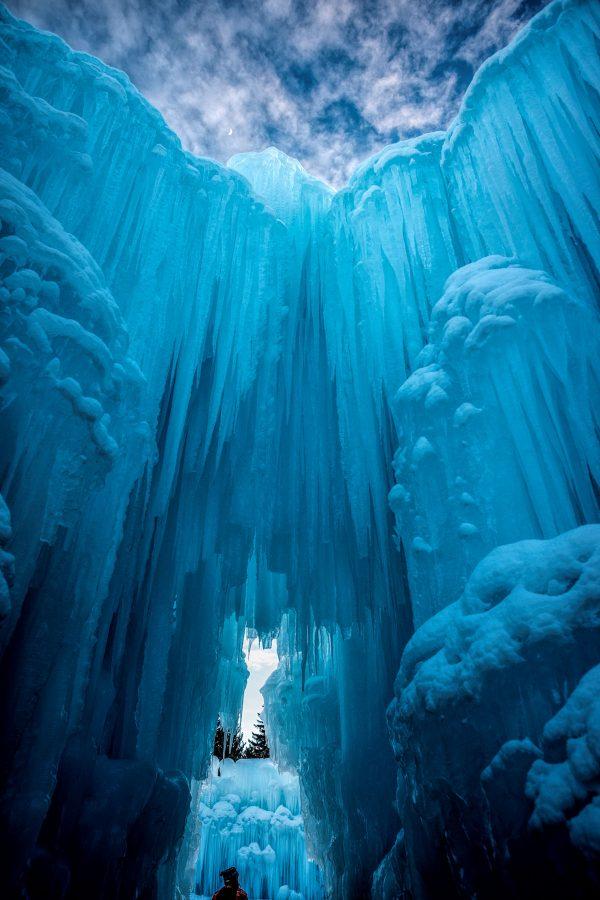 Ice Castle Openings, Midway, Utah