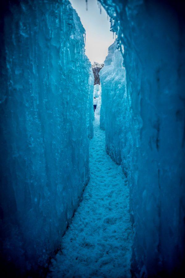 Ice Castle Passage Way, Midway, Utah