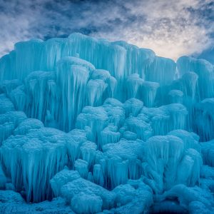 Ice Castle Wall, Midway, Utah
