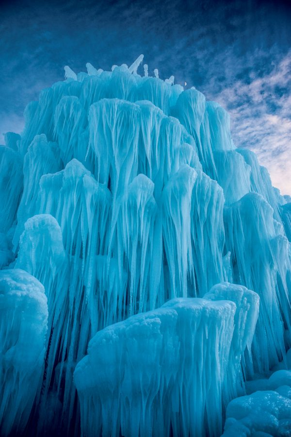 Ice Tower, Midway, Utah