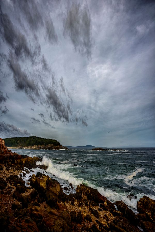 Incoming Tide, Acadia National Park, Maine