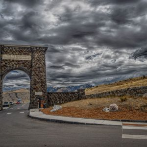North Entrance to Yellowstone National Park, Montana