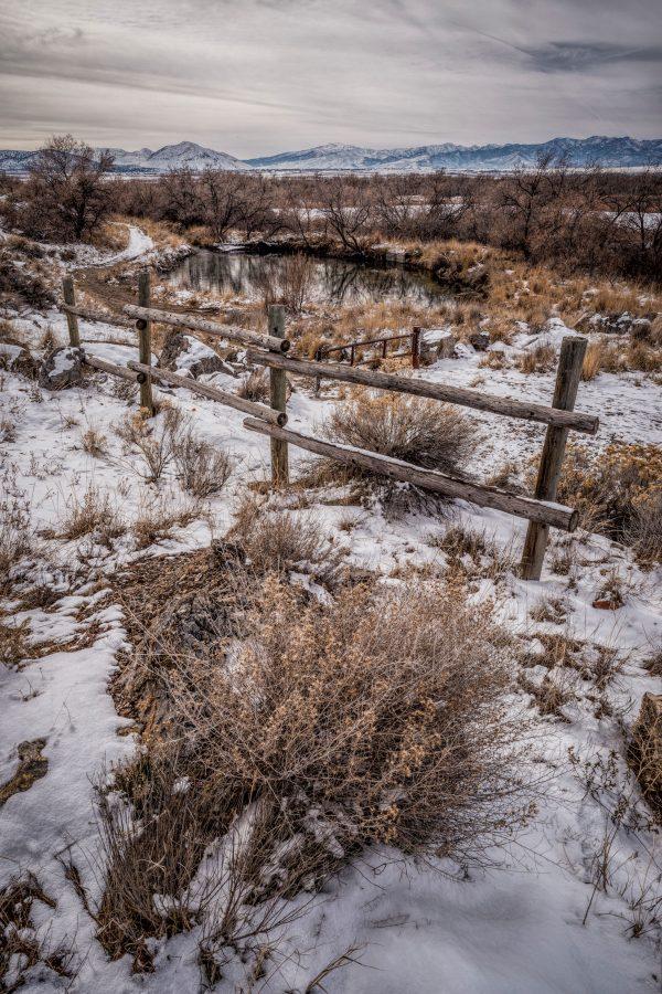Rail Fence in Winter 4, Genola, Utah