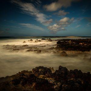 Rocky Shores of Poipu Beach, Kauai, Hawaii