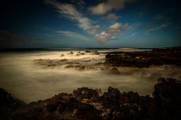 Rocky Shores of Poipu Beach, Kauai, Hawaii
