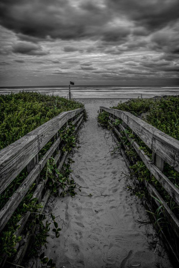 Sandy Walkway to the Beach 2, Padre Island, Texas