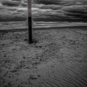 Sea Side Beach Marker 2, Padre Island, Texas